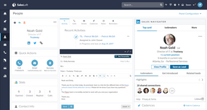 salesloft dashboard