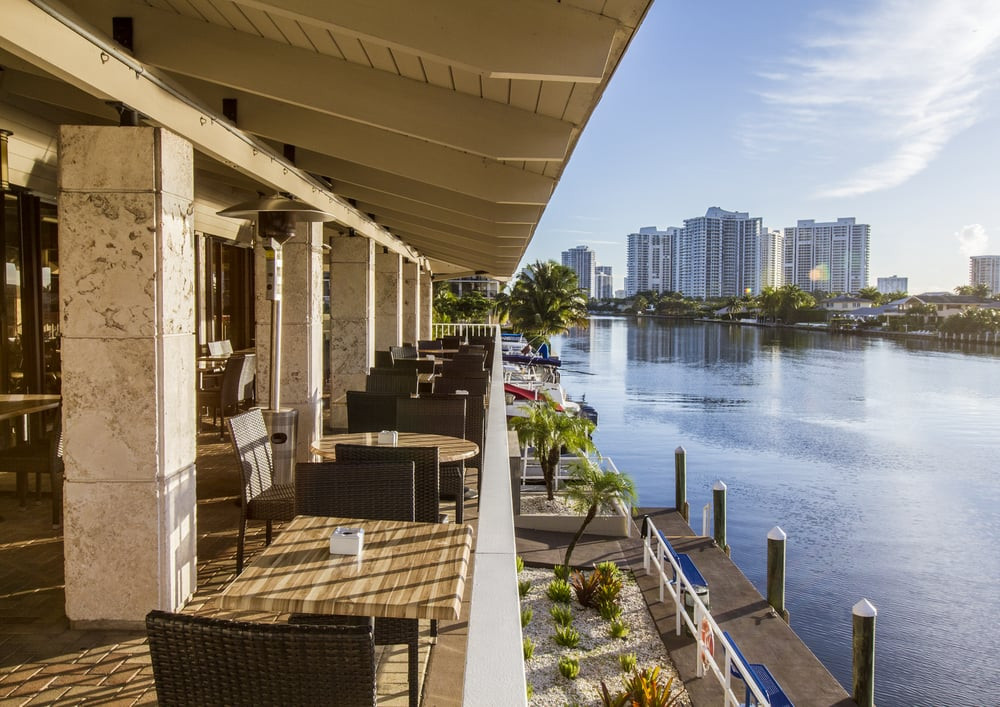 Juniper on the water ocean view setting in Hallandale Beach Florida
