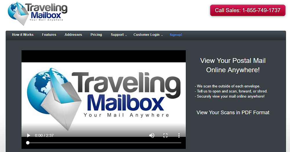 traveling mailbox virtual office mailbox services