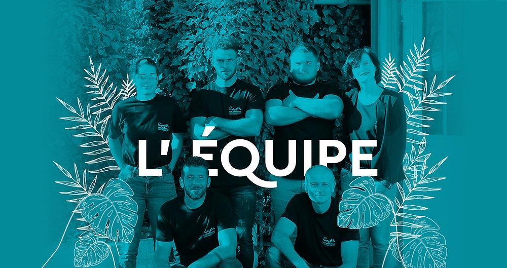 EQUIPE- Paysagiste - David Bergougnoux Brioude Issoire