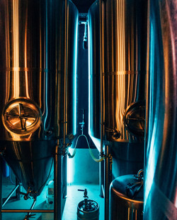 Brewery Tanks Neon