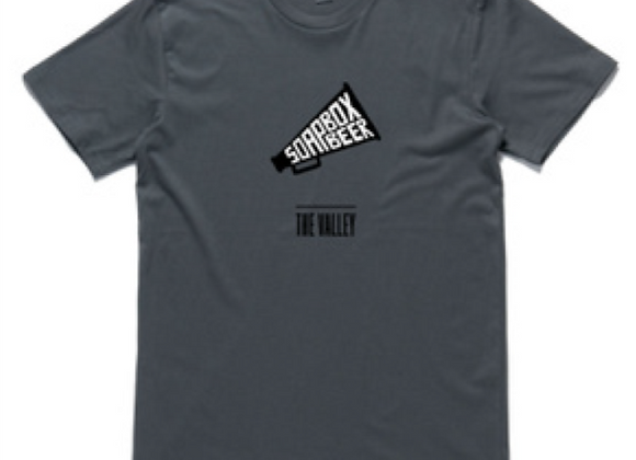 Soapbox T-Shirt (Charcoal)