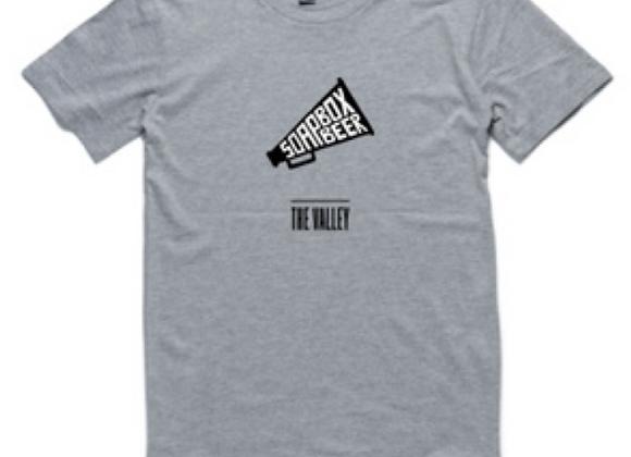 Soapbox T-Shirt (Grey Marle)