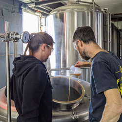 Soapbox Beer - Brewing Action