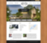 The Island Mill Getaway Website Mockup