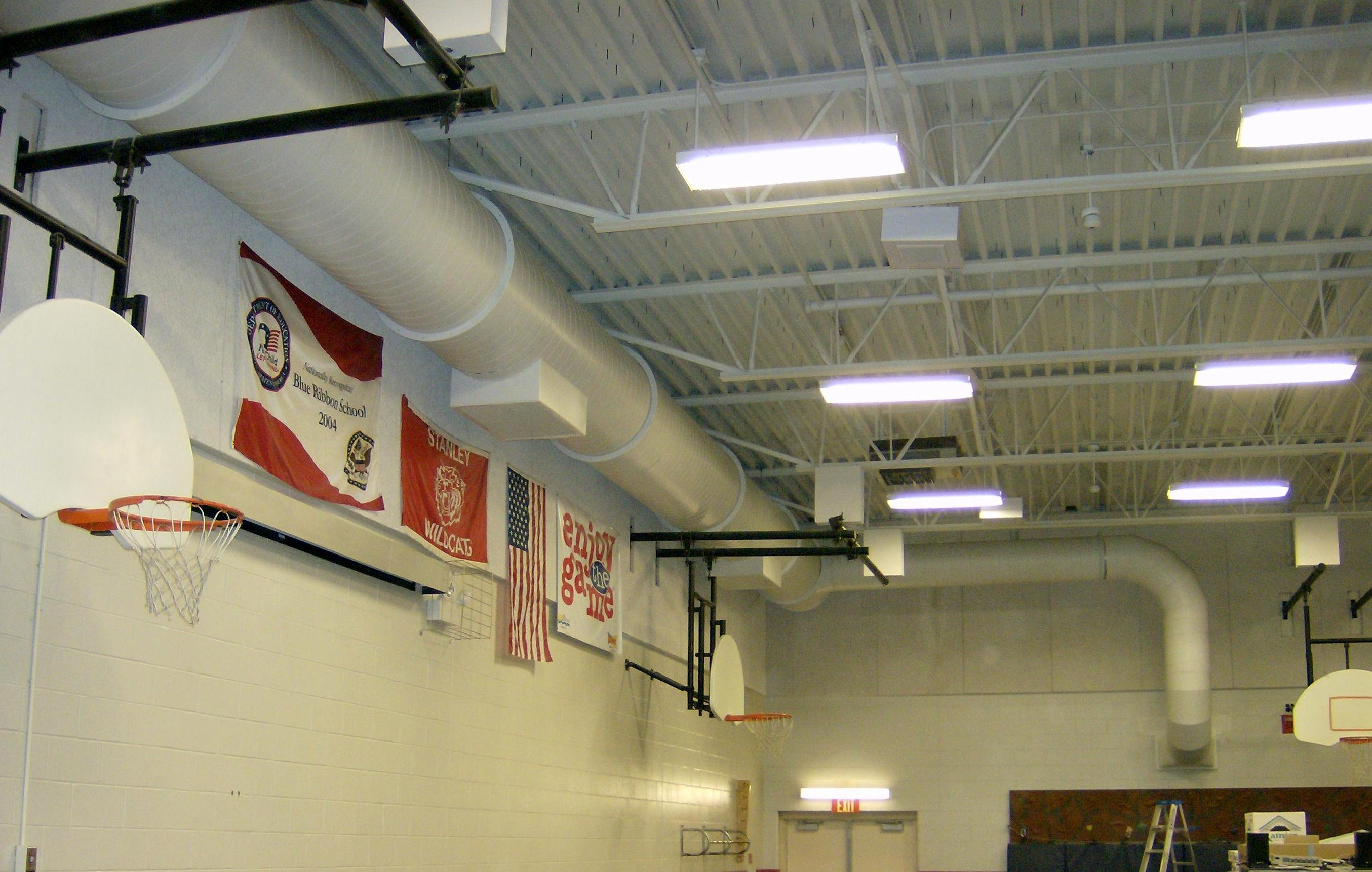Gym Ductwork