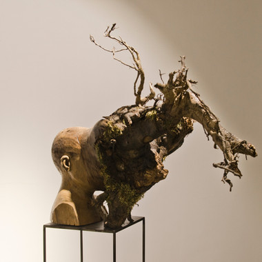 Untitled (Uprooted Self-portrait),