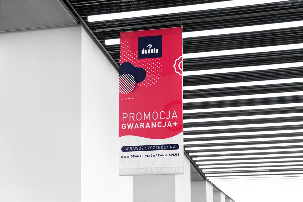 Gwarancja + dla firmy Deante - Kampania reklamowa przedłużająca gwarancję na zlewozmywaki. Więcej na www.deante.pl/gwarancjaplus