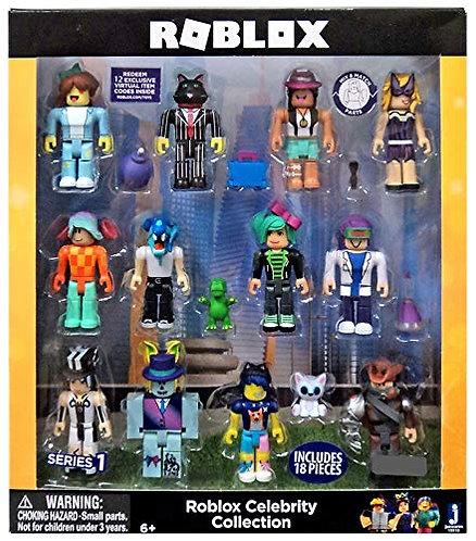 Roblox Celebrity Series 12 figure - набор из 12 фигурок - знаменитости