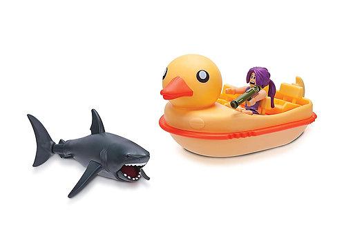 ROBLOX Celebrity Sharkbite: Duck Boat Vehicle - набор - Акула против лодки-утки
