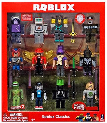 Roblox Series 2 Classics 12 figure pack - набор из 12 фигурок 2 серии