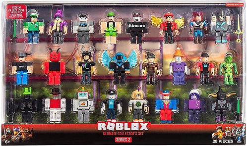 Roblox набор коллекционера - 24 фигурки из 2 серии.