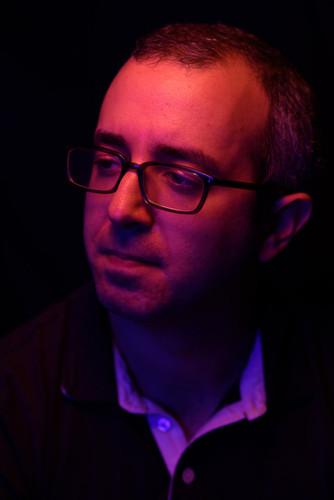 A headshot by Andy DelGiudice