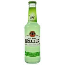 Breezer citron vert bacardi