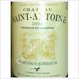 Ch. St Antoine