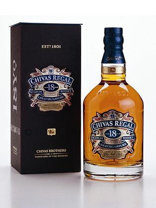 Chivas Regal gold signature
