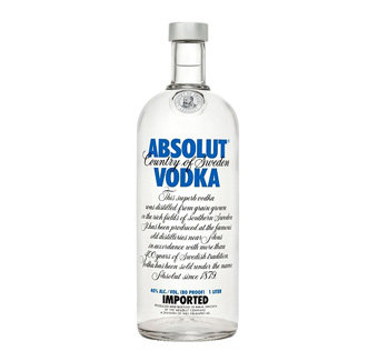 Absolut Blue 150 cl