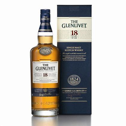 The Glenlivet 18 ans d'âge