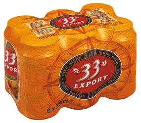 33 export (pack canettes)
