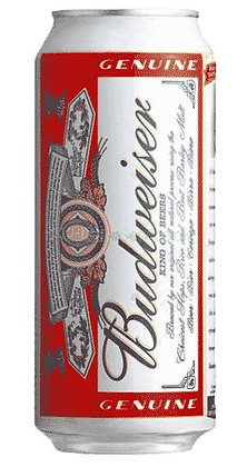 Budweiser 47.5cl