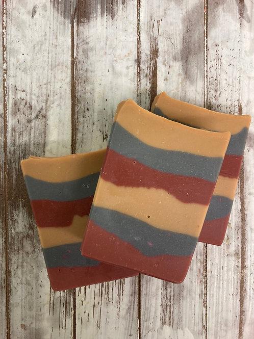 Cozy Flannel artisan soap