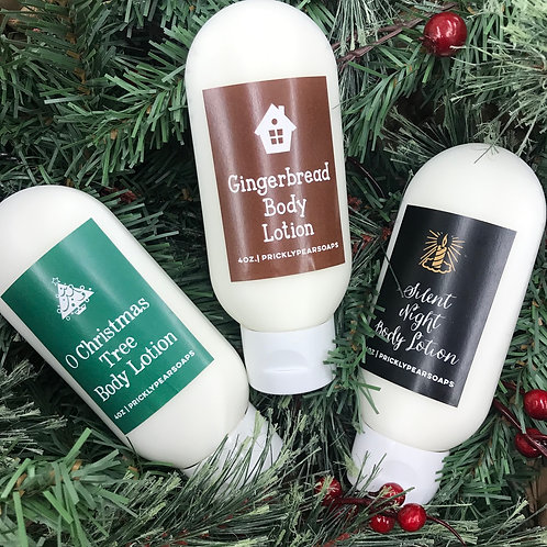 Holiday collection body lotion: choose scent