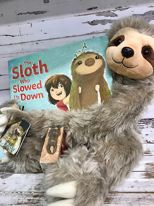 Hang in There: Bedtime Buddies gift set