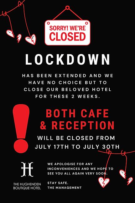 lockdown closed