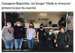 """La Table de Solange s'associe au Food-Truck """"Le Camion de Madame"""""""