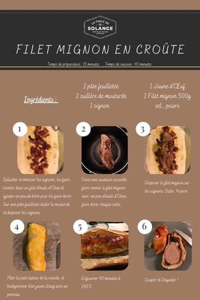 Filet-mignon en croute