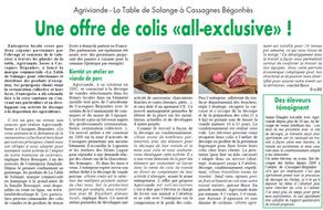 """Une Offre de Colis """"All-Exclusive"""""""