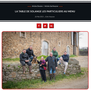La Table de Solange : les particuliers au menu