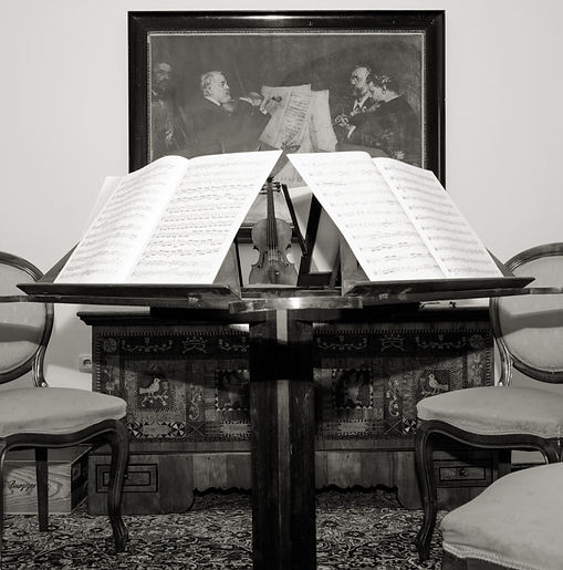 Julia Maria Pasch Geigenbauatelier, Johannes Brahms Salon, Richard Wagner Villa, Wien Austria
