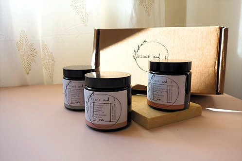 Uplifting Candle Trio Eco-gift