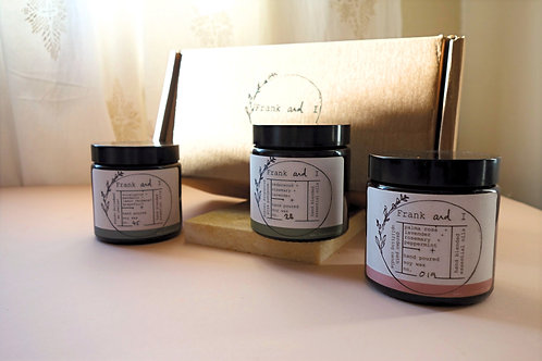Relaxing Candle Trio Eco-gift