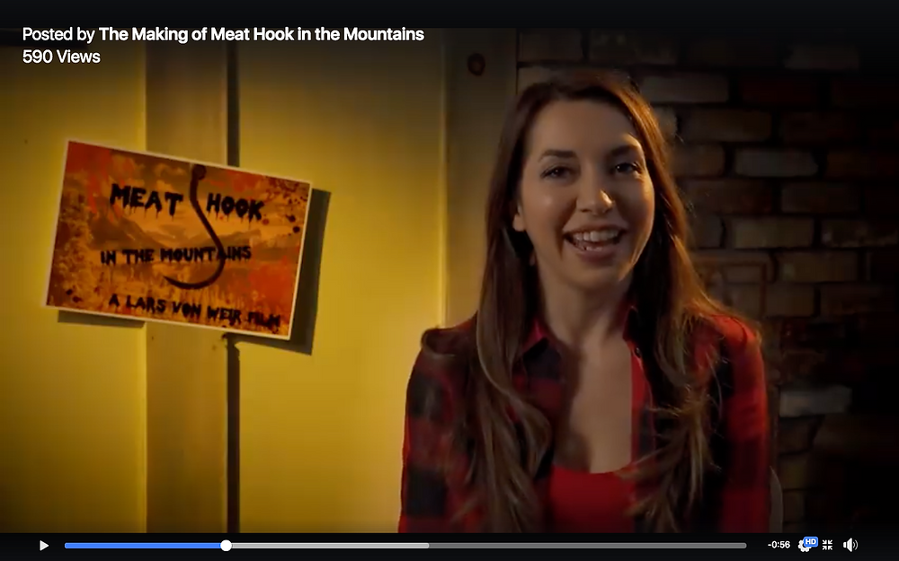 "Kim Paris in ""The Making of Meat Hook in the Mountains."""