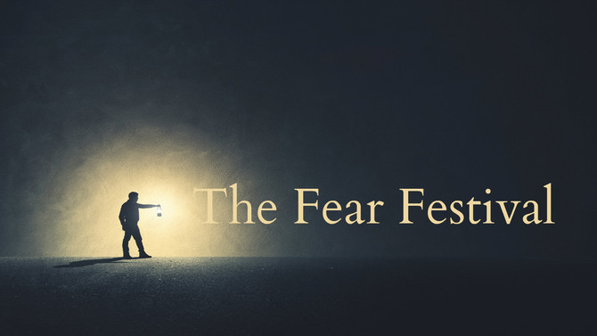 Performing in The Fear Festival