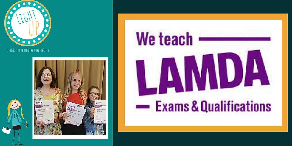 LAMDA Prep Workshop (Grades 6-8)
