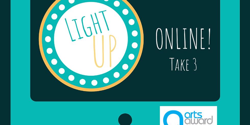Light UP Online - Juniors Arts Award