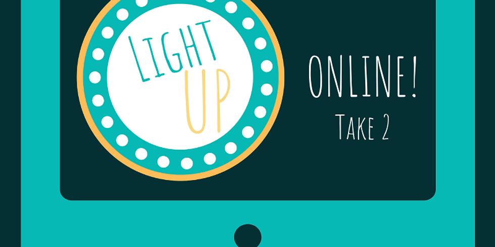 Light UP Online Week of 16/11/20  (w/Membership Credit)