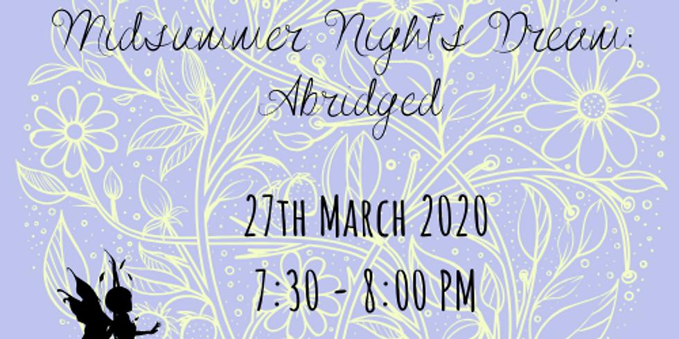 Midsummer Night's Dream - Shirley Company