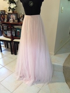Bariano Pink Tulle skirt
