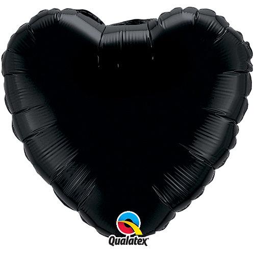 """Black 18"""" Foil Balloons"""