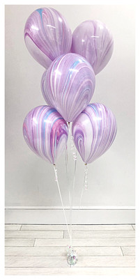 Fashion Print Balloon Bouquet