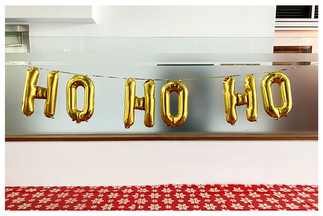 "Ho Ho Ho 14"" Letter Banner"