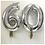 "Thumbnail: Silver Number Balloon (34"")"