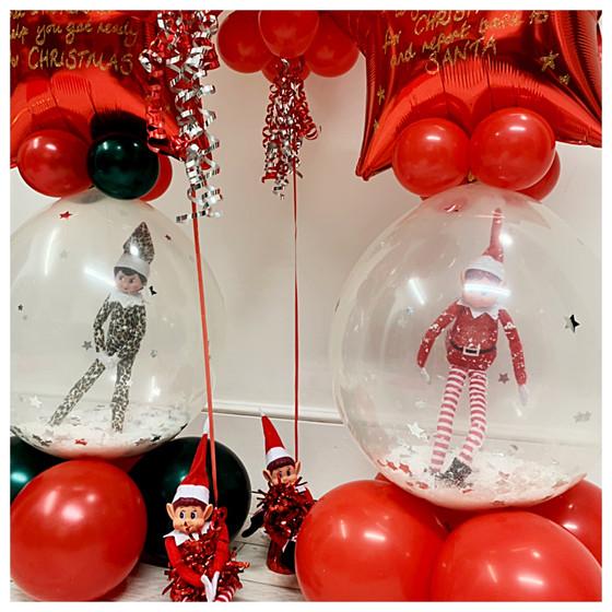 Stuffed Elf Balloon