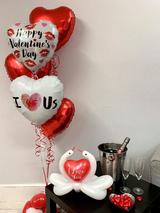I Love Us Balloon Bouquet
