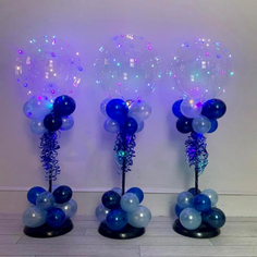 Pastel Air-filled Jellyfish Centrepiece