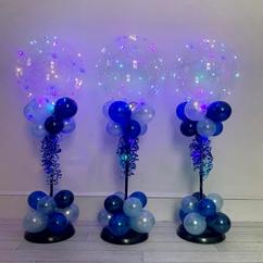 Pastel Air-filled Jellyfish Centrepiece